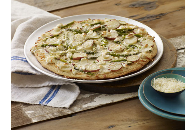 Asparagus, Potato & PHILLY Pizzeria Pizza Image 1