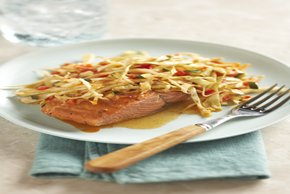 Honey Chipotle Salmon with Vegetables