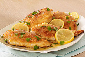 Easy Lemon-Chicken Piccata Image 1