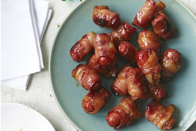 Bacon-Wrapped Hot Dog Bites Image 1