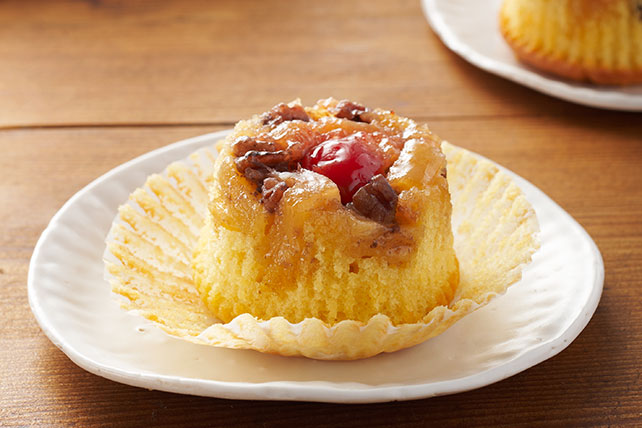 Pineapple Upside-Down Cupcakes Image 1
