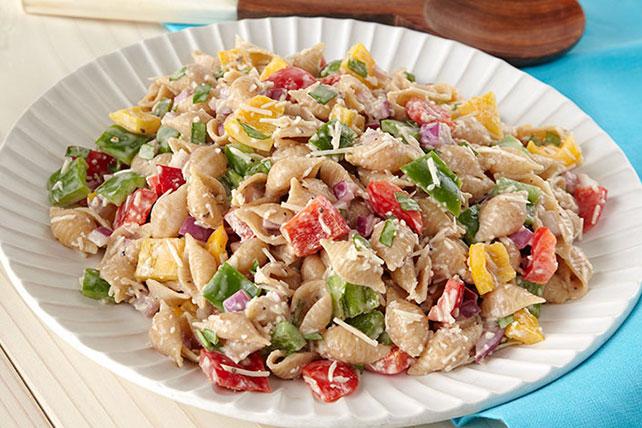 Tri-Pepper Pasta Salad Image 1