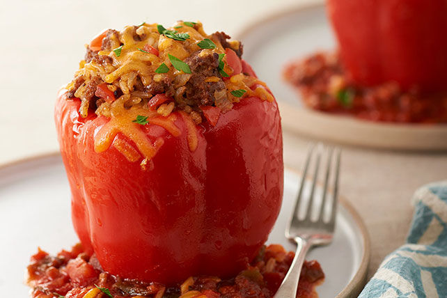 Mexican Stuffed Peppers for Two Image 1