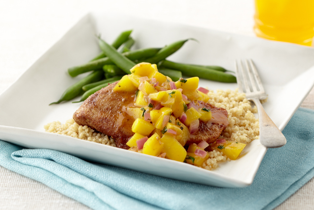 Orange-Mango Chicken Recipe Image 1