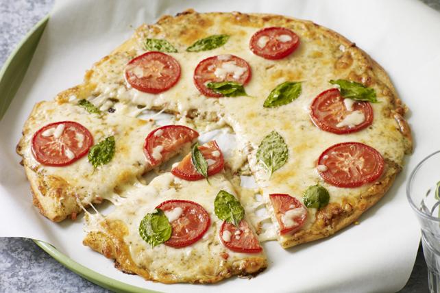 Perfect-Crust Margherita Pizza Image 1