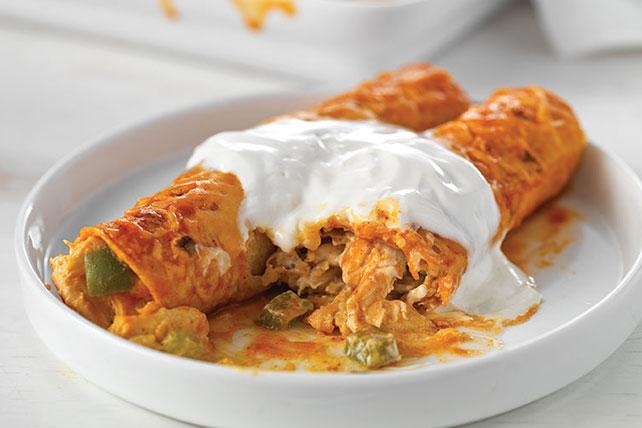 Enchiladas de pollo sublimes Image 1