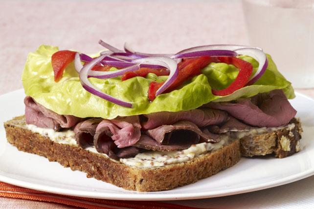 sandwichs rôti de bœuf-moutarde Image 1