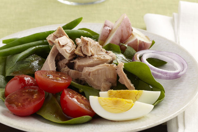 Salade niçoise au thon Image 1
