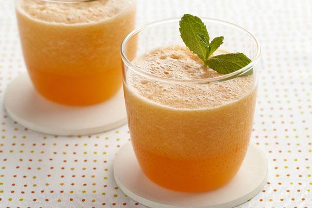Cantaloupe-Tangerine Aqua Fresca Image 1