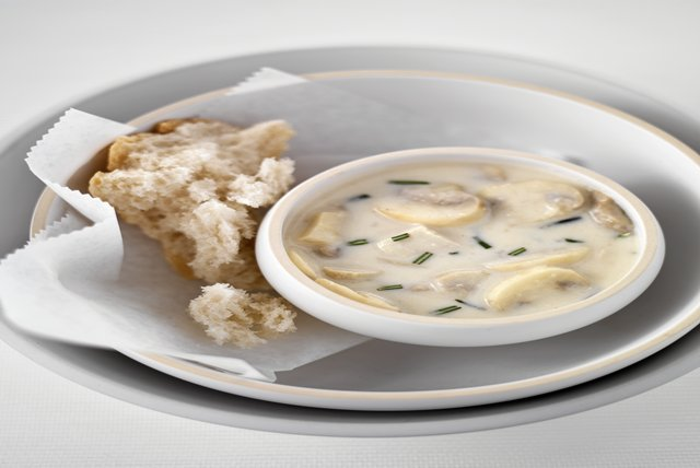 Todd English's Chicken Veloute Supreme Soup Image 1