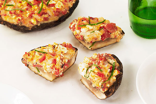 Grilled Stuffed Portobello Mushrooms Image 1