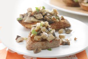 Mushroom-Pesto Toasties