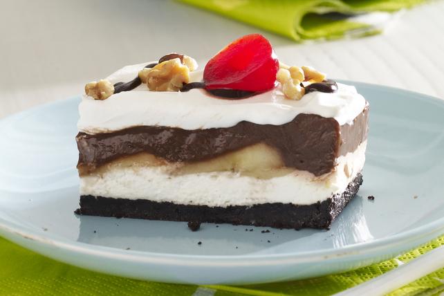 Dessert façon banane royale au chocolat Image 1