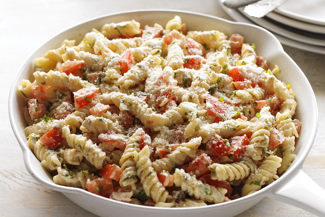 Fresh tomato basil pasta recipe kraft canada Tuna and philadelphia pasta