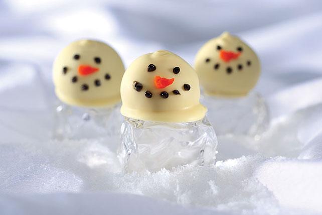 OREO Snowman Cookie Balls Image 1
