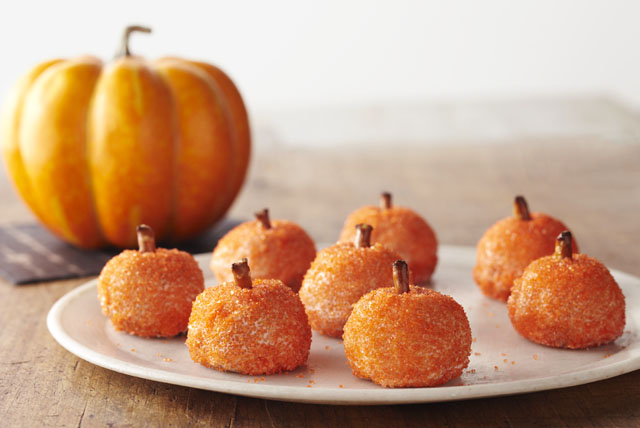 Pumpkin Cookie Balls