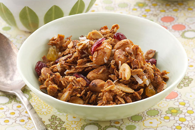 Peanutty Granola Recipe