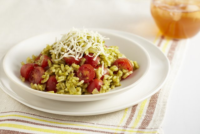 Fresh Tomato-Herb Rice Image 1