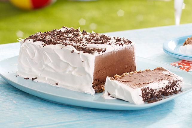 Rebanada de helado de galleta de chocolate Image 1