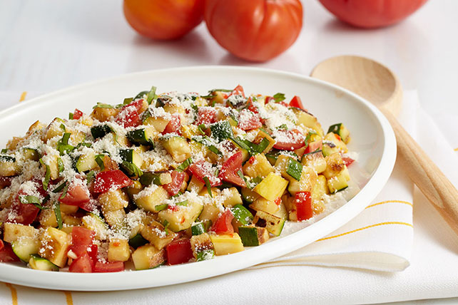 Grilled Garden Salad Image 1