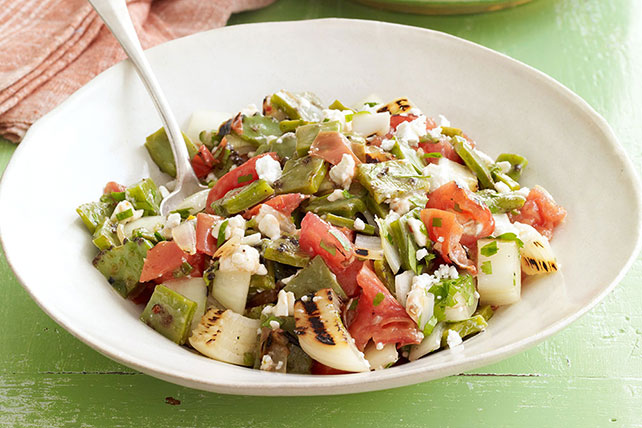 Grilled Cactus Salad Image 1