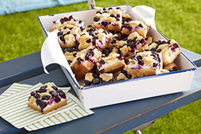 Lemon-Blueberry Crumb Bars Image 1