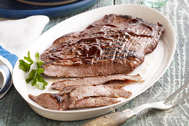 Deviled Flank Steak Recipe
