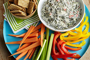 Caesar-Spinach Dip