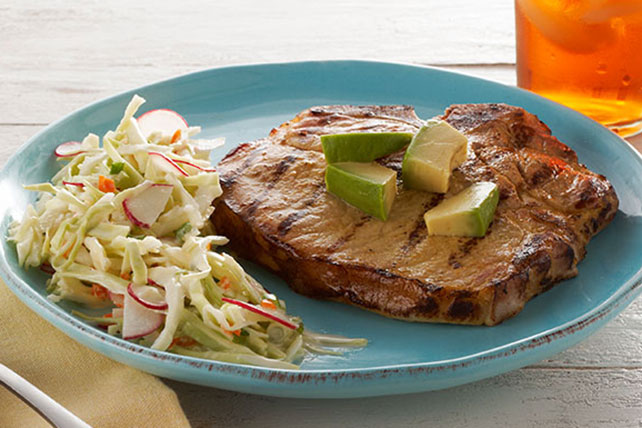 Grilled Pork Chops Yucatan-Style Image 1