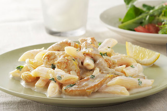 Creamy Lemon Chicken Pasta Image 1