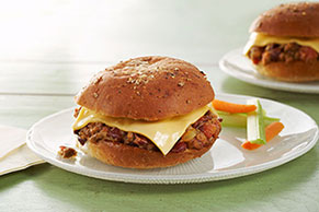 Sloppy Cheese Joes