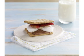Strawberry-Banana S'Mores