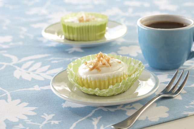 Coconut Cream Mini Cheesecakes Image 1