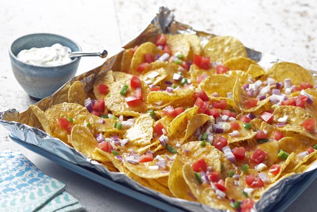 Padrísimos nachos a la parrilla Image 1