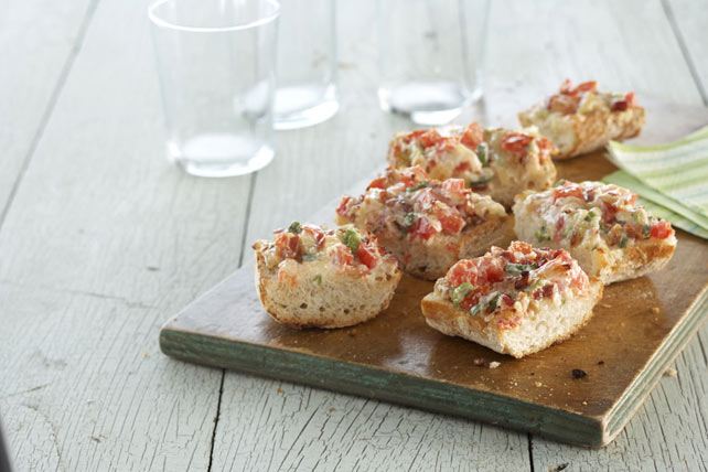 Bacon Bruschetta Baguette