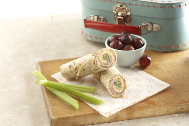 Cheesy Tortilla Roll-Up Snack Image 1