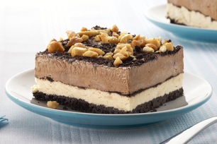 Peanut-Chocolate Mud Pie Squares