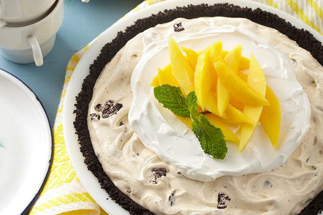 Pay de helado con mango a la OREO Image 1