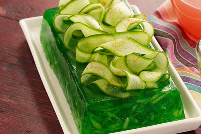 Cucumber-Lime Gelatin Image 1