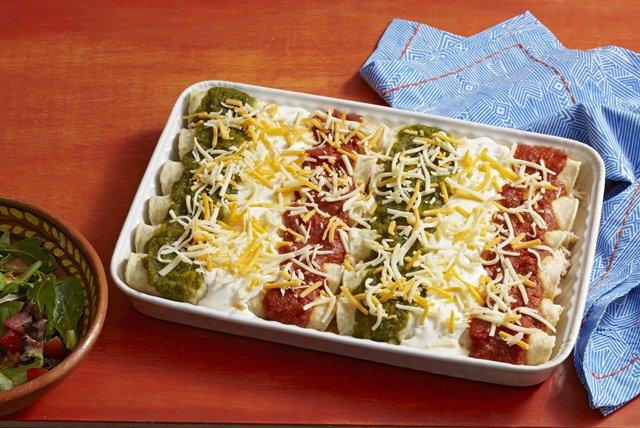 Tri-Color Enchiladas Image 1