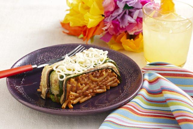 Macaroni & Cheese Cake Image 1