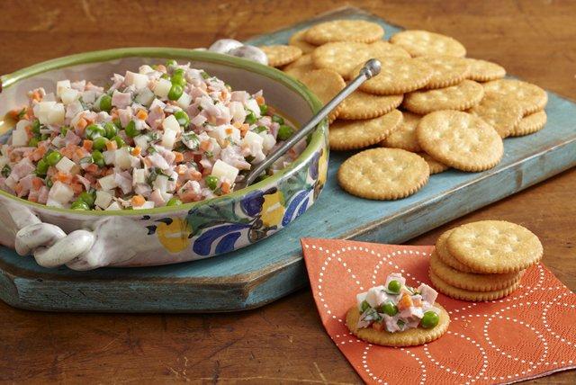 Crunchy Ham Salad Bites Image 1