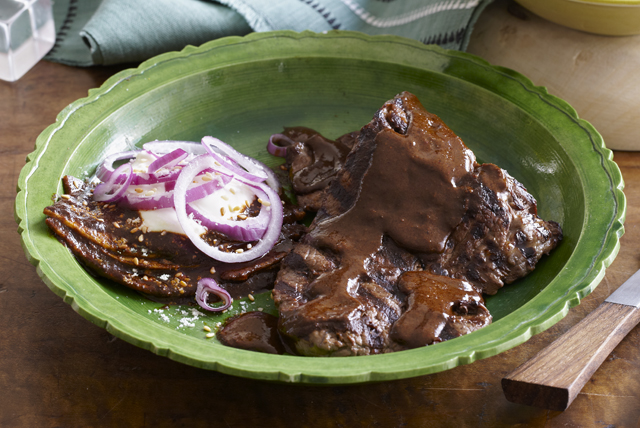 Grilled Beef Mole