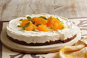 Citrus No-Bake Cheesecake