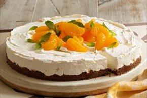 Citrus No-Bake Cheesecake