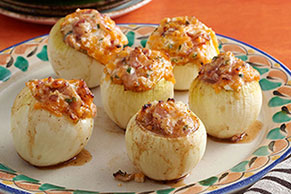 Grilled Stuffed Onions