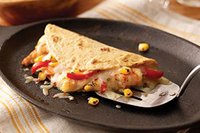 Chile-Lime Shrimp Quesadillas