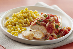 Zesty Chicken with Cumin-Lime Corn
