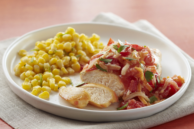 Zesty Chicken with Cumin-Lime Corn Image 1