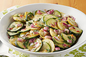 Marinated Zucchini & Parsley Salad